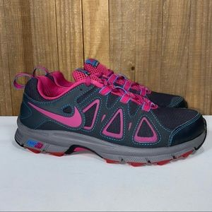 Nike Air Alford Gray Pink Trail Running Shoes 7.5